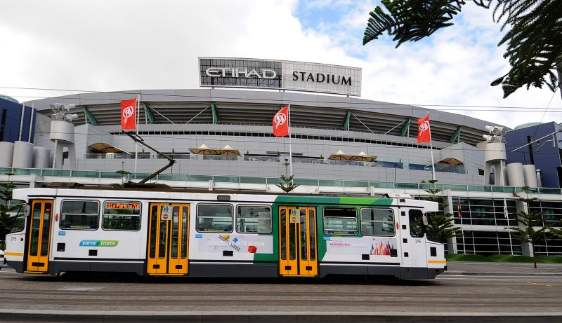 More trams for Docklands